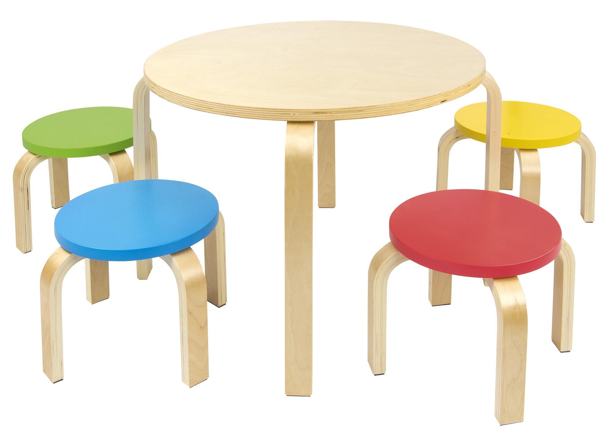 table et 4 chaises enfant meuble enfant mobilier chaise d 39 enfant baby leomark fr. Black Bedroom Furniture Sets. Home Design Ideas